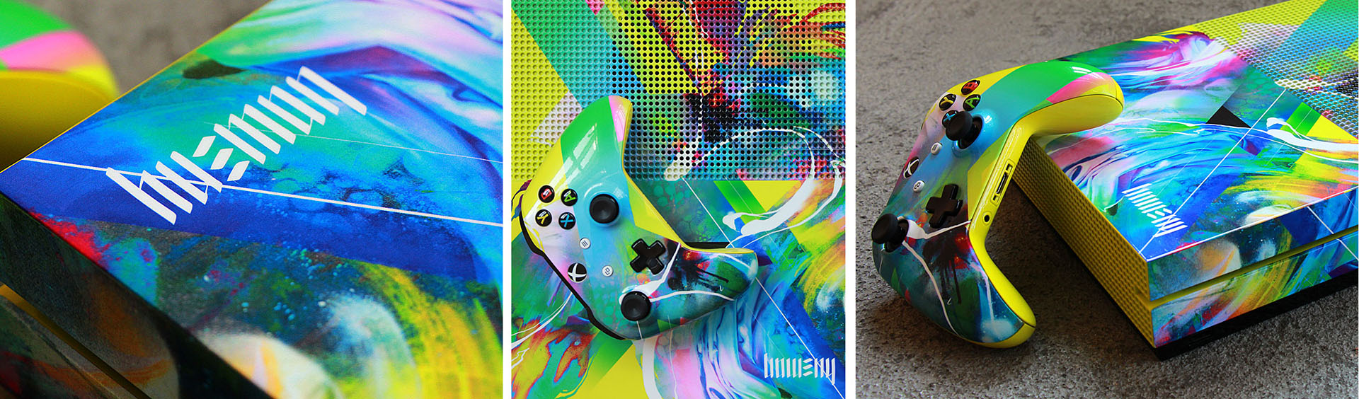 Microsoft Ultimate Game Face Xbox Tiled Graphic