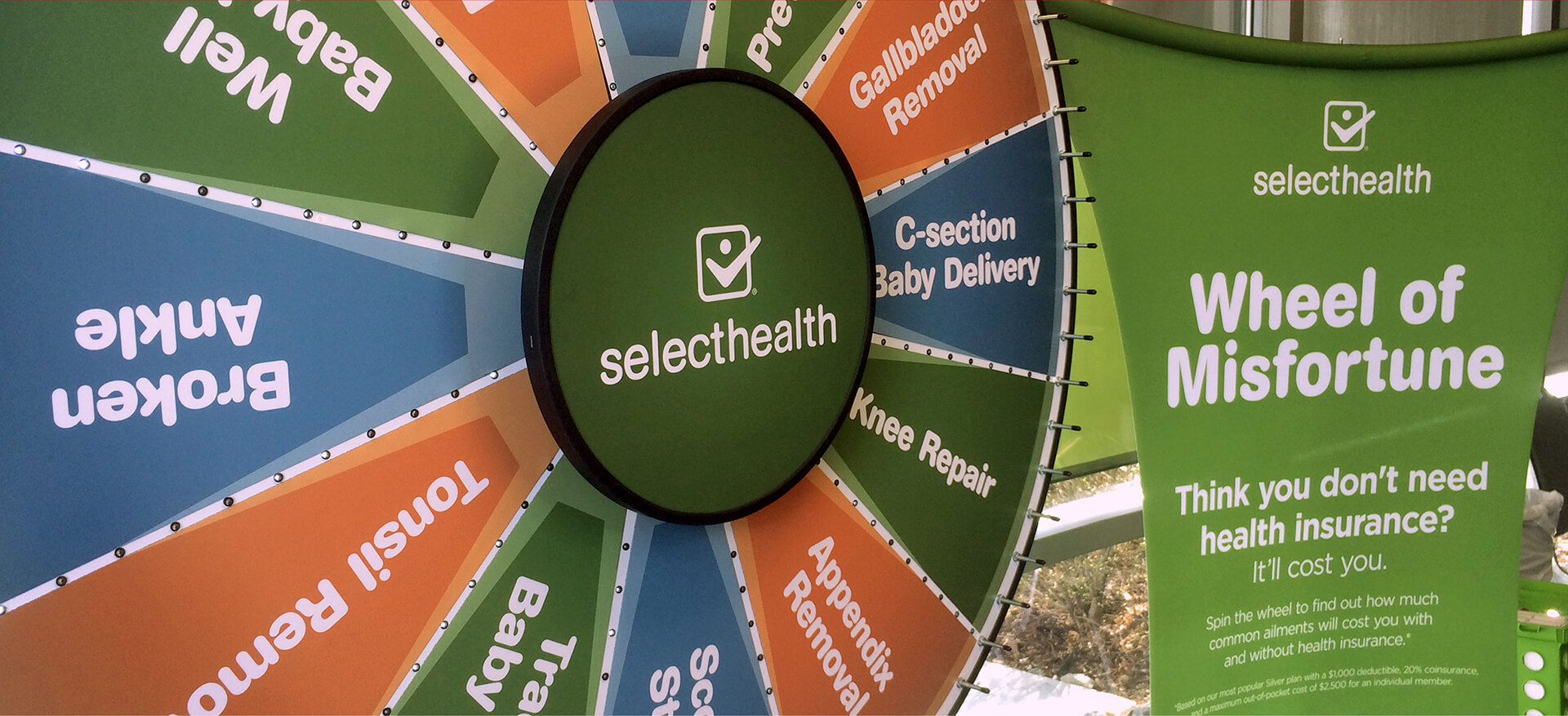SelectHealth Wheel of Misfortune